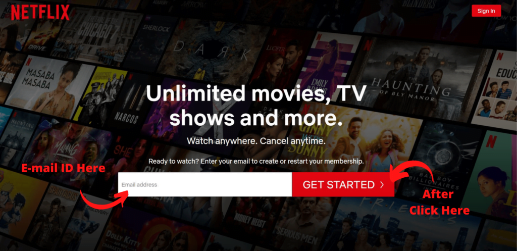Netflix subscription offers India